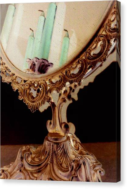 Canvas Print - The Mirror by Orphelia Aristal