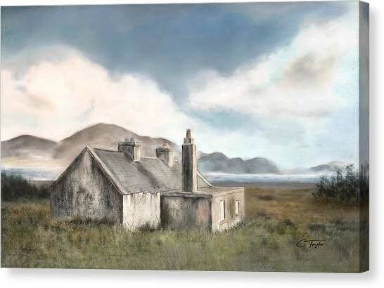Moorland Canvas Print - The Mist Of Moorland by Colleen Taylor