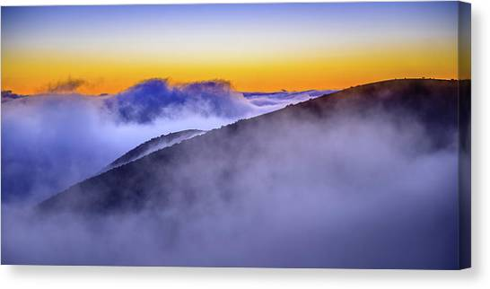 The Mists Of Cloudfall Canvas Print