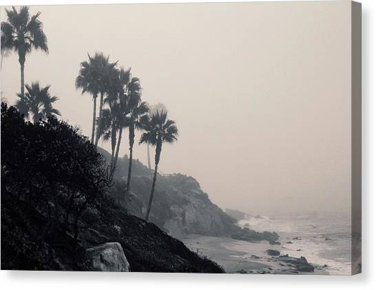 The Mists Of Laguna Beach Canvas Print