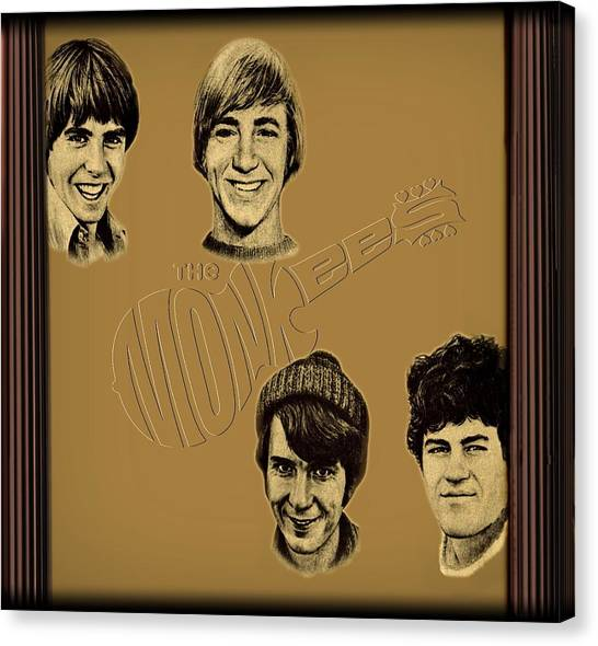 The Monkees  Canvas Print