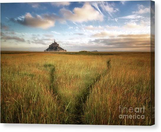 The Mont Saint-michel's Bay Canvas Print