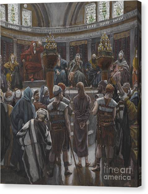 Decision Canvas Print - The Morning Judgement by Tissot