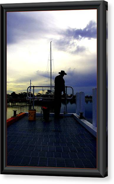 The Morning Wait. Canvas Print