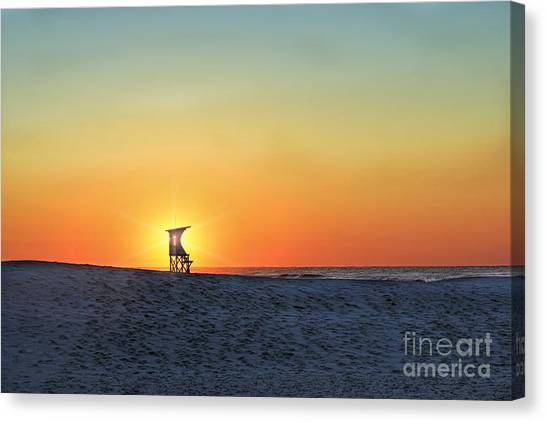 The Morning Watchtower Canvas Print