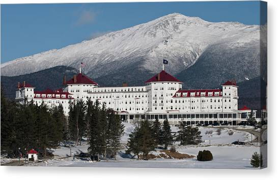 The Mount Washington Hotel Canvas Print