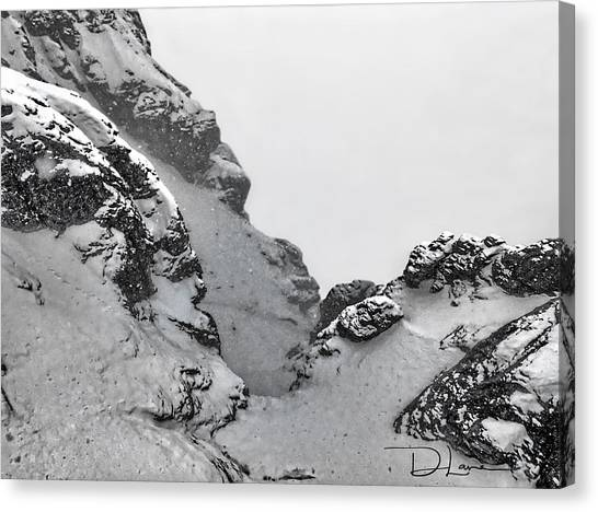The Mountain Abyss Canvas Print