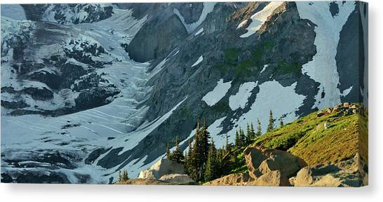 The Mountain Goat  Canvas Print