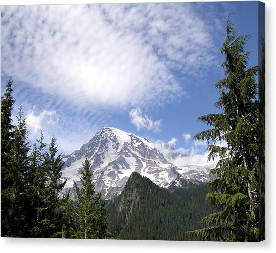 The Mountain  Mt Rainier  Washington Canvas Print