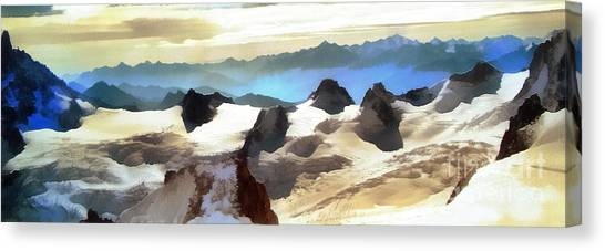 The Mountain Paint Canvas Print