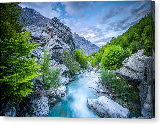 The Mountain Spring Canvas Print
