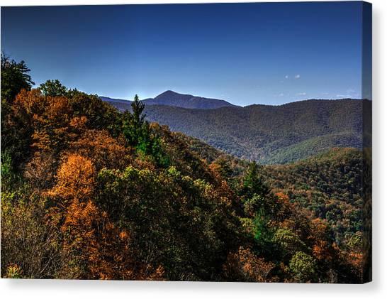 The Mountains Win Again Canvas Print