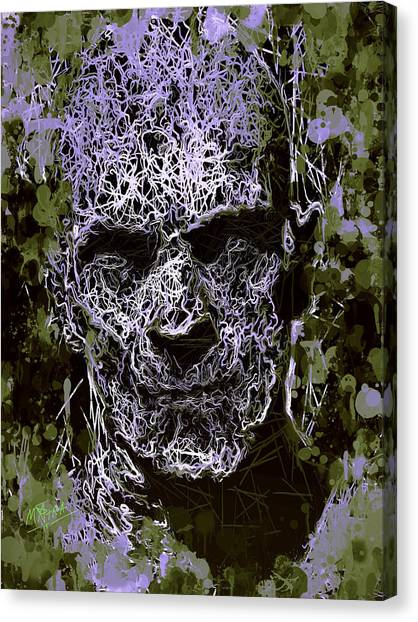 The Mummy Canvas Print