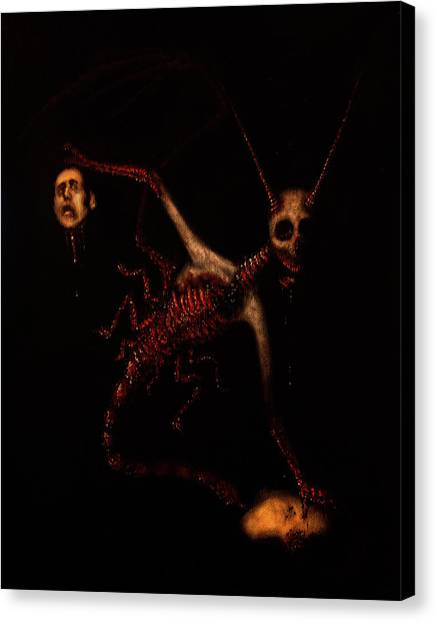 The Murder Bug - Artwork Canvas Print