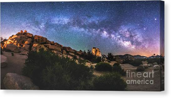 The Mystic Valley Canvas Print