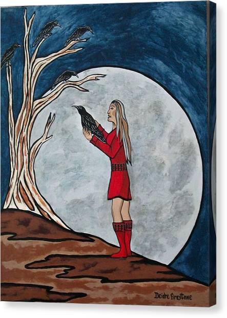 The Mystical Experience Canvas Print by Deidre Firestone
