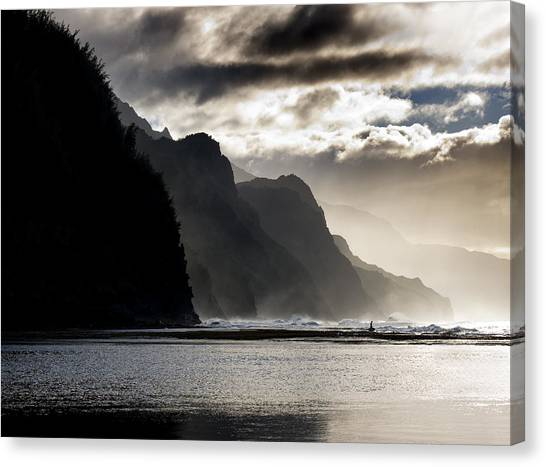 The Na Pali Coast On Kauai Hawaii Canvas Print