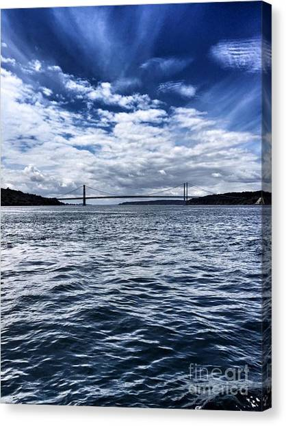 The Narrows Bridge  1 Canvas Print