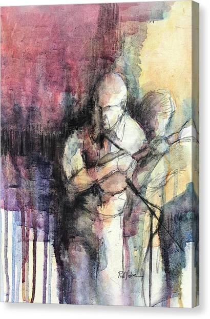 Mandolins Canvas Print - The Natural Step by Robert Yonke