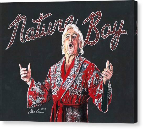 The Nature Boy, Ric Flair Canvas Print