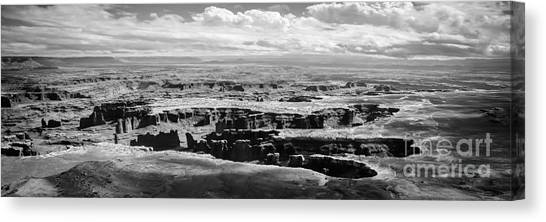 The Needles At Canyonlands Canvas Print by Scott and Amanda Anderson