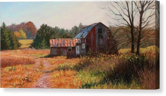 The Neighbor's Barn Canvas Print