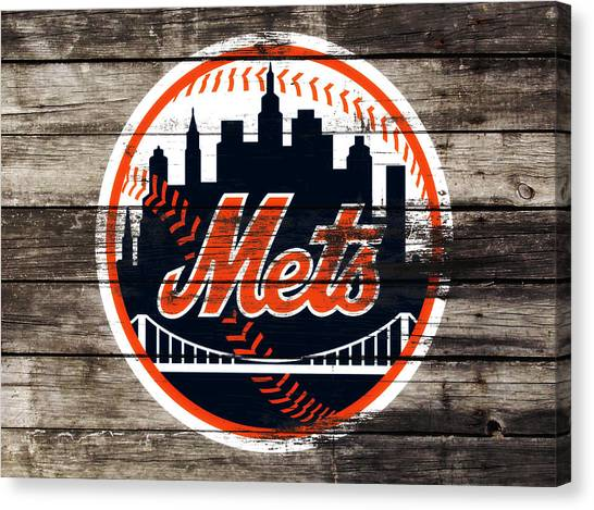 Miami Marlins Canvas Print - The New York Mets 3f by Brian Reaves