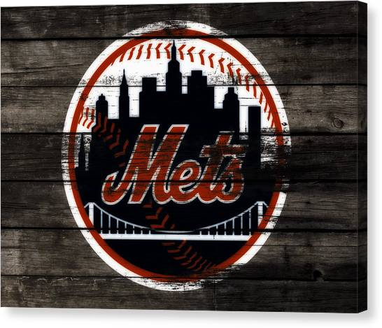 Miami Marlins Canvas Print - The New York Mets 3j by Brian Reaves