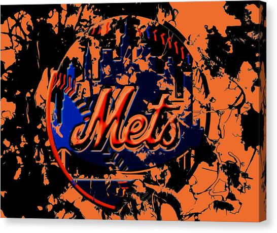 Miami Marlins Canvas Print - The New York Mets 6b by Brian Reaves