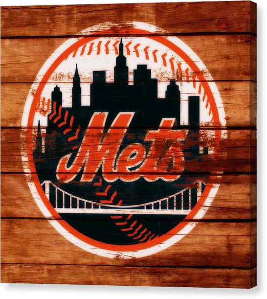 Miami Marlins Canvas Print - The New York Mets C1 by Brian Reaves