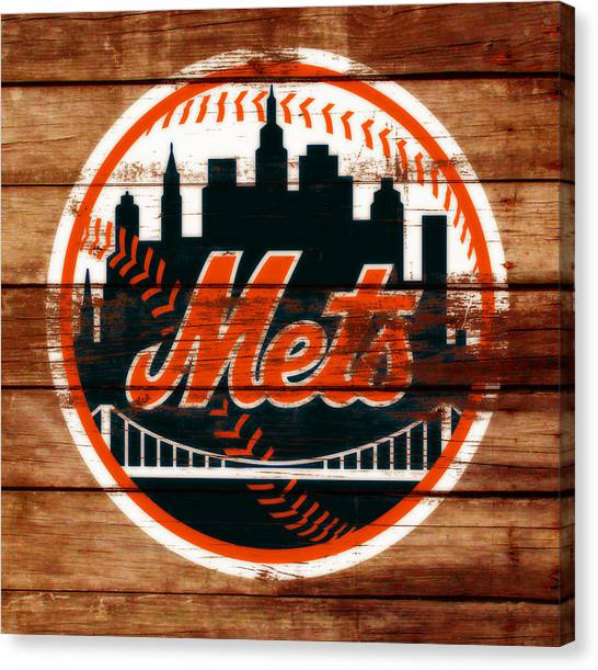 Miami Marlins Canvas Print - The New York Mets C2 by Brian Reaves