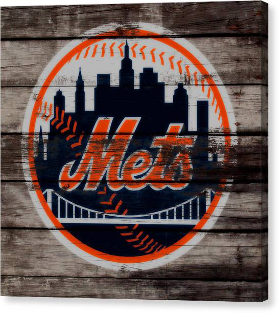 Miami Marlins Canvas Print - The New York Mets C3 by Brian Reaves
