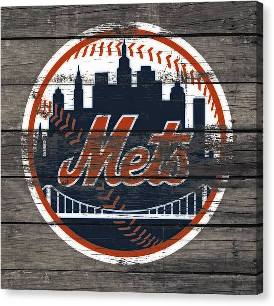 Miami Marlins Canvas Print - The New York Mets C4 by Brian Reaves