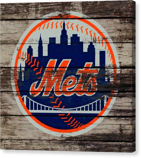 Miami Marlins Canvas Print - The New York Mets C5 by Brian Reaves