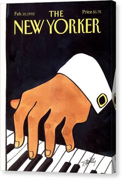 The New Yorker Cover - February 10th, 1992 Canvas Print
