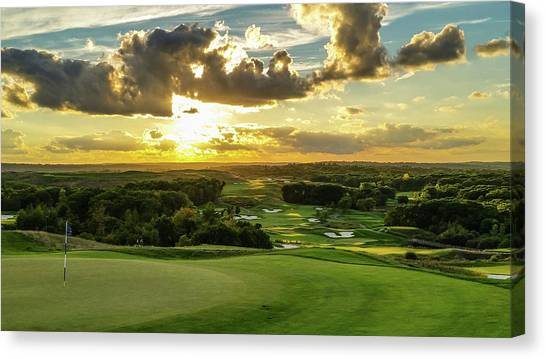 The Ninth Hole II Canvas Print