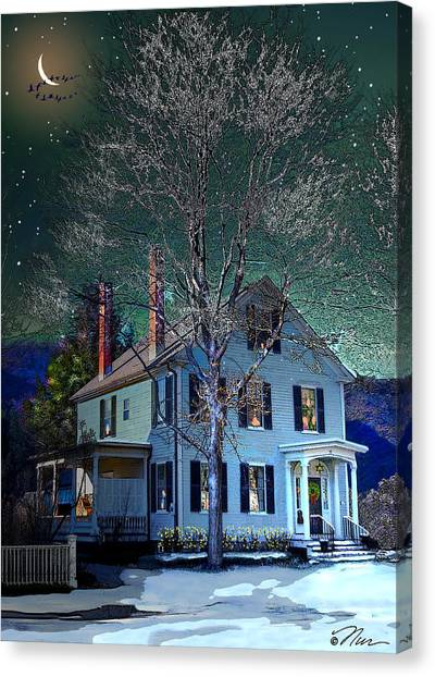 The Noble House Canvas Print