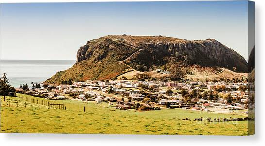 The Sky Canvas Print - The Nut In Stanley Tasmania by Jorgo Photography - Wall Art Gallery