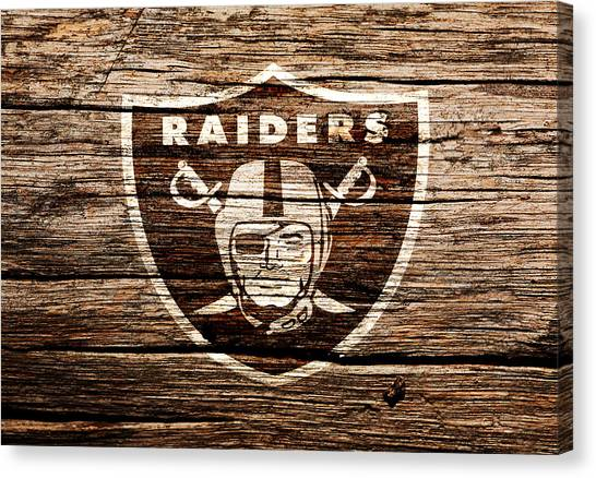 Reggie White Canvas Print - The Oakland Raiders 1f by Brian Reaves