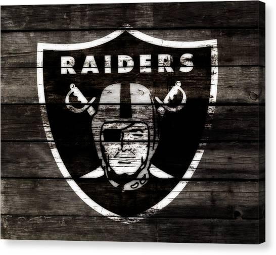 Reggie White Canvas Print - The Oakland Raiders 3b by Brian Reaves