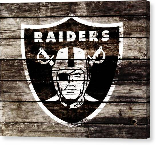 Reggie White Canvas Print - The Oakland Raiders 3c	 by Brian Reaves