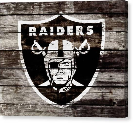 Reggie White Canvas Print - The Oakland Raiders 3e by Brian Reaves