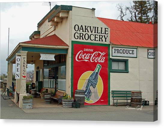The Oakville Grocery Canvas Print