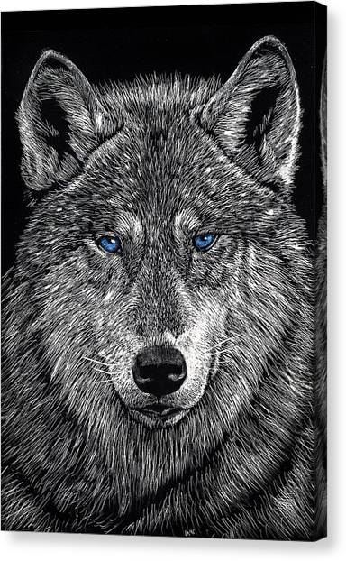 The Obligitory Wolf Canvas Print