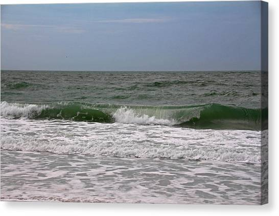 The Ocean In Motion Canvas Print