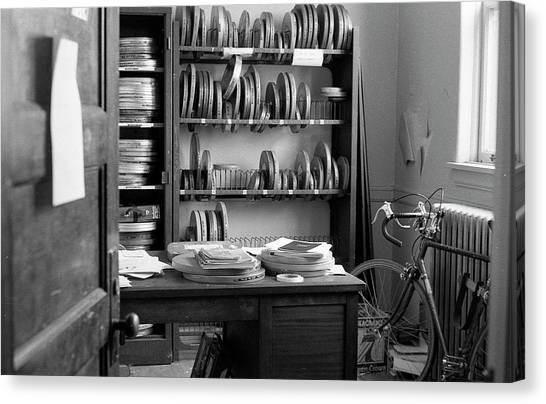 The Office Of A Teaching Assistant, 1979 Canvas Print