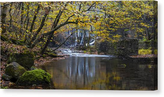The Old Blanchard Mill Canvas Print