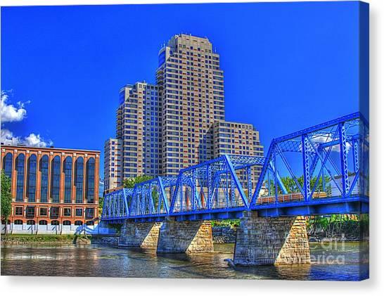 The Old Blue Bridge Canvas Print