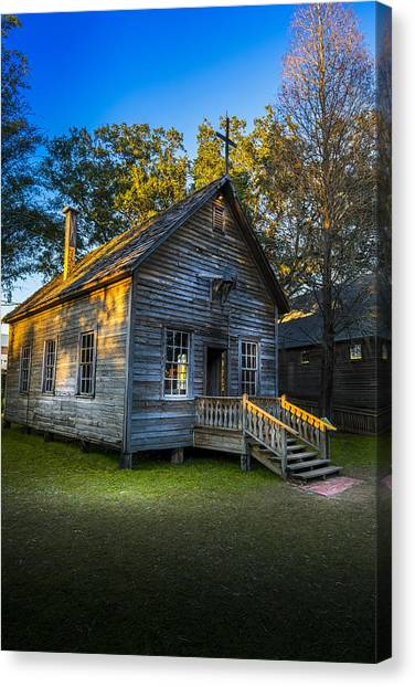 Florida State Canvas Print - The Old Church by Marvin Spates