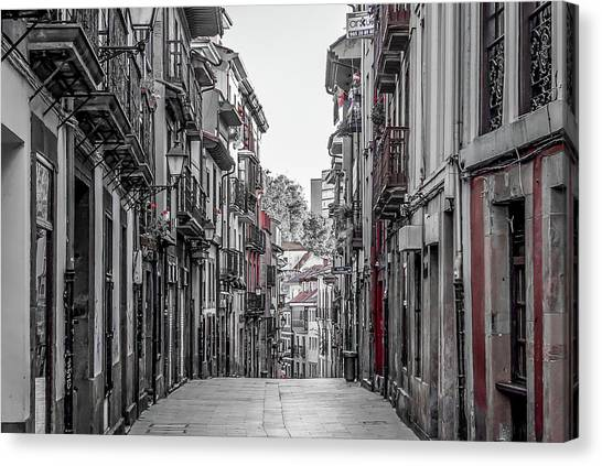 Canvas Print - The Old City by Ric Schafer